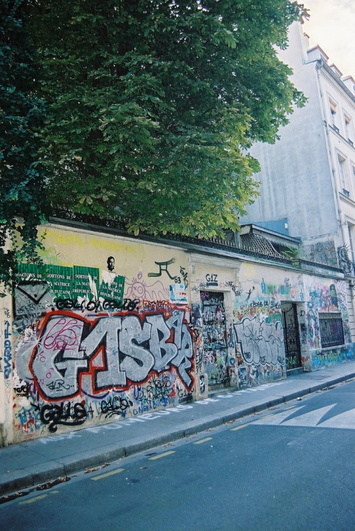 Serge Gainsbourg's house in Paris (by Олеола @ flickr.com)